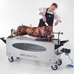 HogMasterGlassSpit Pig & Chef