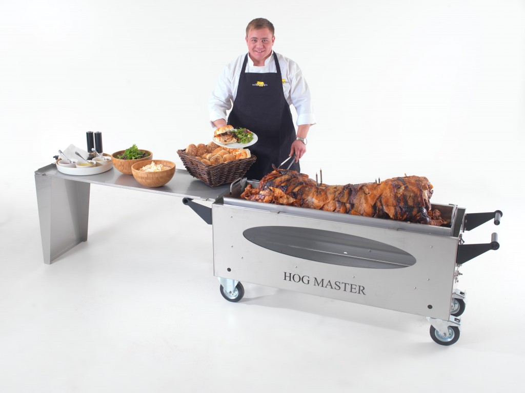 HogMasterGlass Hog Table Food Chef