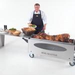 HogMasterGlass Hog Table Food Chef