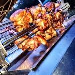 Surrey - Chicken Spit Cooking